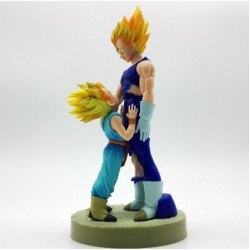 Figura, Dragon Ball Z, Super Saiyan, Vegeta y Trun Padre