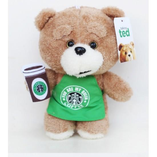 Peluche, Oso TED , 20 cm con delantal