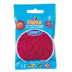Hama Beads, Mini Fucsia , de 2000 piezas