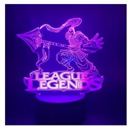 Lampara Efecto 3d,  LOL, League of Legends