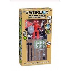 Set StikBot Sucker , Orange plus, Action pack