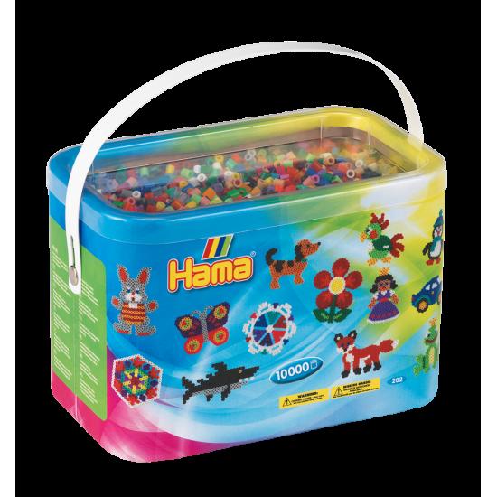 Hama Beads, Balde midi 10.000 piezas