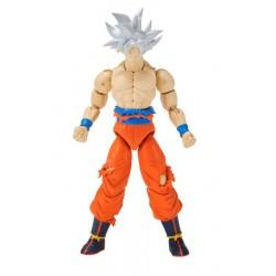 Figura, Dragon ball, ARTICULADA SERIE 7, 17 cm, Ultra Instinct Goku, ORIGINAL BANDAI