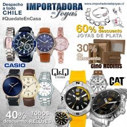 Relojes, adornos y billeteras