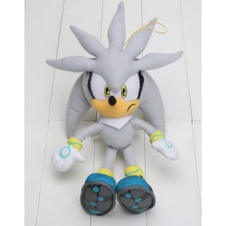 Peluche, Sonic Great Silver , 23 CM