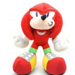 Peluche Sonic,  rojo , original 23cm