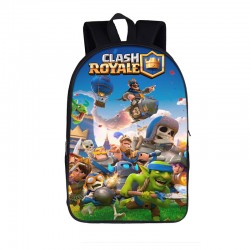 Mochila Impermeable, CLASH ROYALE,  42cm Doble compartimiento