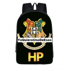 Mochila Impermeable, Harry Potter ,  42cm Doble compartimiento