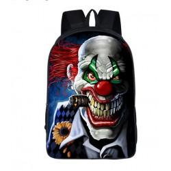 Mochila Impermeable, Crazy Evil Clown ,  42cm Doble compartimiento