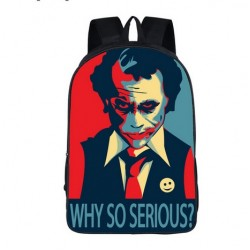 Mochila Impermeable, JOKER Why So Serious ,  42cm Doble compartimiento