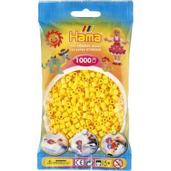 Hama Beads, MIDI Amarillo, 1000 piezas