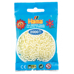 Hama Beads, MINI Crema, de 2000 piezas