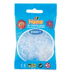 Hama Beads, Transparente, de 2000 piezas