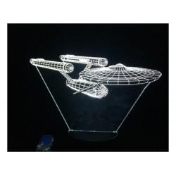 Lampara Efecto 3d, Enterprise 2
