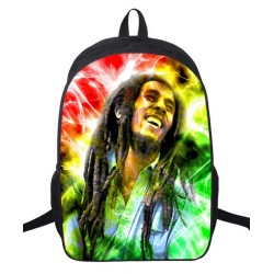 Mochila Impermeable, BOB Marley , 42cm Doble compartimiento