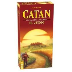 Juego de Mesa,  CATAN BASICO EXPANSION 5-6 JUGADORES