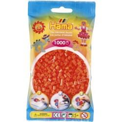 Hama Beads, NARANJA, 1000 piezas