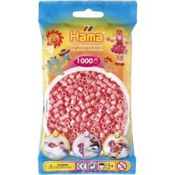 Hama Beads, MIDI ROSA, 1000 piezas