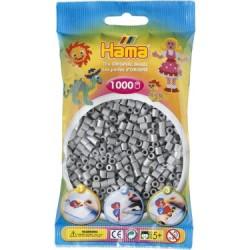 Hama Beads, MIDI GRIS, 1000 piezas