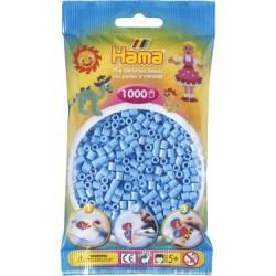 Hama Beads, MIDI CELESTE, 1000 piezas