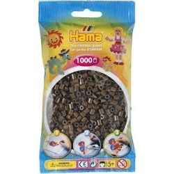 Hama Beads, MIDI CAFE OSCURO, 1000 piezas