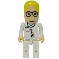 Pendrive,16GB, Doctor ( pelo amarillo)