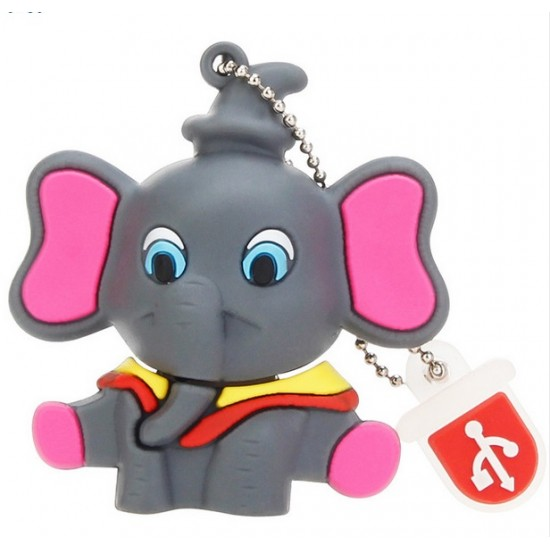 Pendrive,16GB, Elefante Kawaii