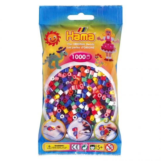 Hama Beads, Midi mix 10  , 1000  piezas