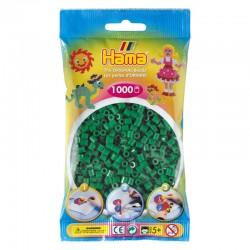 Hama Beads, MIDI Verde, 1000 piezas