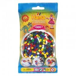 Hama Beads, Midi mix 6 , 1000  piezas