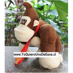 Peluche, Donkey Kong, 19 cm