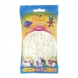 Hama Beads, MIDI, Glow in the Dark , 1000  piezas