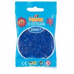 Hama Beads, Mini azul, de 2000 piezas