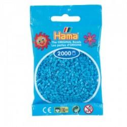 Hama Beads, Mini Turquesa, de 2000 piezas