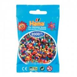 Hama Beads, Mini mix 2000 piezas, 48 colores