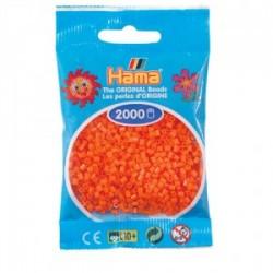Hama Beads, Mini naranja de 2000 piezas