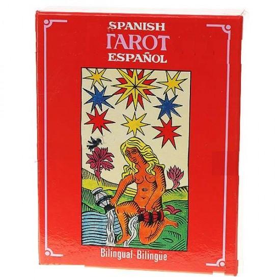 Tarot Cartas, Vintage Español, / Inglés   Bilingües