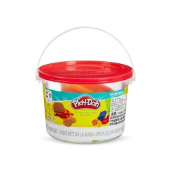 PLASTICINAS, PLAY-DOH MINI CUBETA