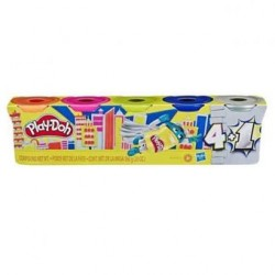 PLASTICINAS, PLAY-DOH, PACK PROMOCIONAL 4+1