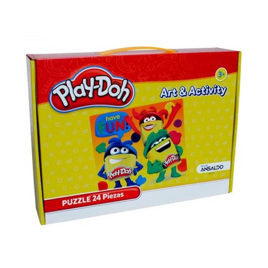 PUZZLE 24 PIEZAS,PLAY-DOH