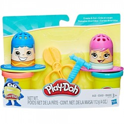 PEINADOS DIVERTIDOS, PLAY-DOH