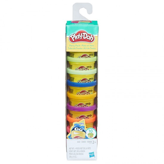 PLASTICINAS, PARTY PACK PLAY DOH X 10 UNIDADES