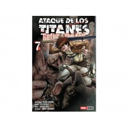 Manga, Ataque de los Titanes - Before the Fall, N.7