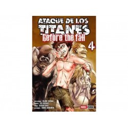 Manga, Ataque de los Titanes - Before the Fall, N.4