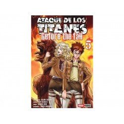 Manga, Ataque de los Titanes - Before the Fall, N.5