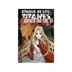 Manga, Ataque de los Titanes - Before the Fall, N.8
