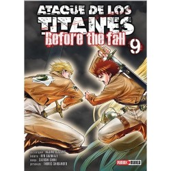 Manga, Ataque de los Titanes - Before the Fall, N.9