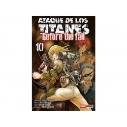 Manga, Ataque de los Titanes - Before the Fall, N.10