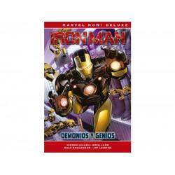 Comic, MARVEL Deluxe Now, IRON MAN DE KIERON GILLEN 1 (DEMONIOS Y GENIOS)