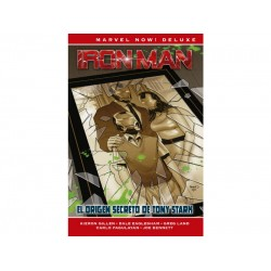 Comic, MARVEL Deluxe Now, IRON MAN DE KIERON GILLEN 2 (El Origen secreto)